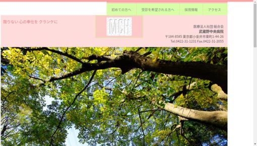 (医)総合会武蔵野中央病院の画像