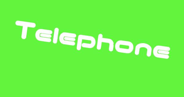 Telephoneトレンド画像
